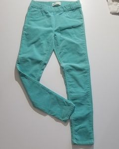 H&M corduroy skinny pants.